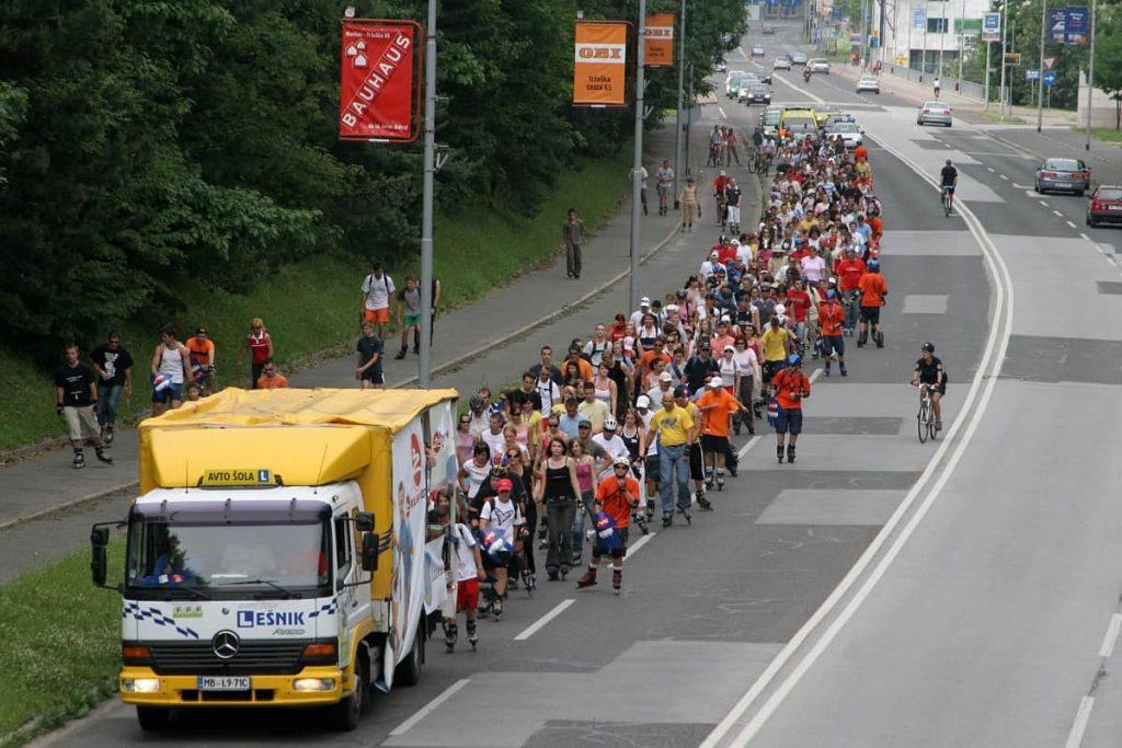 Parada rolanja Maribor